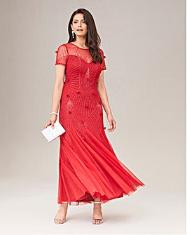 Joanna Hope High Neck Maxi