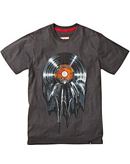 Joe Browns Melting Vinyl T-Shirt Regular