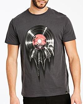 Joe Browns Melting Vinyl T-Shirt Regular