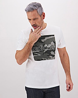 adidas Camo Box T-Shirt