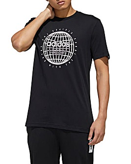 adidas Globe T-Shirt
