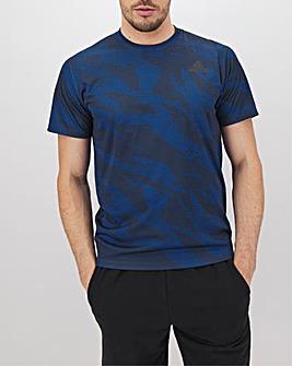 adidas Full Camo T-Shirt