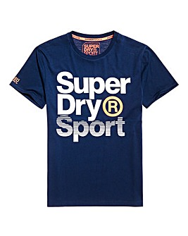 Superdry Core Sports Graphics S/S T-Shirt