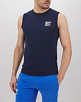 Superdry Core Training Small Logo Tank