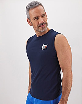 Superdry Training Small Logo Tank