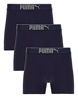 Puma Pack Of 3 Sueded Boxers