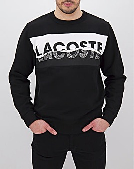 Lacoste Sport Logo Crew Sweat