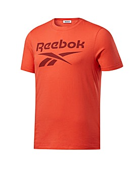 Reebok GS Stacked Short Sleeved T-Shirt