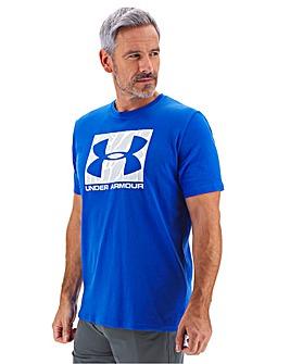 Under Armour Camo Boxed Logo T-Shirt
