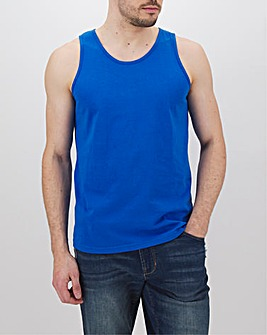 Bright Blue Basic Vest