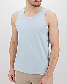 Sky Blue Basic Vest