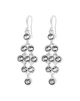 Jon Richard Tennis Drop Earrings