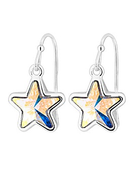 Jon Richard Aurora Borealis Star Earring