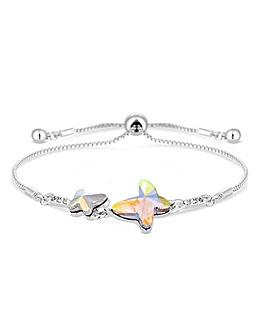 Jon Richard Butterfly Toggle Bracelet