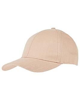 Accessorize Linen Look Baseball Cap