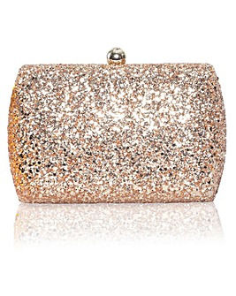 Perfect Sylvia Glitter Clutch Bag