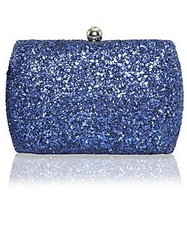 Perfect Sylvia Glitter Clutch Bag