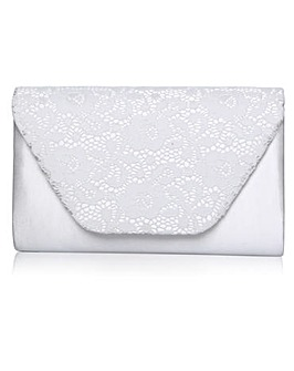 Perfect Minna Lace Clutch Bag