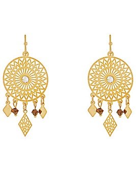 Accessorize Disco Filigree Earrings