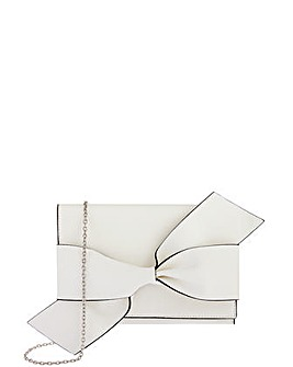 Accessorize Emily Pu Bow Clutch