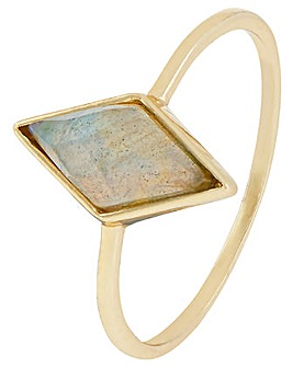 Accessorize Labradorite Ring