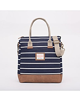 BRAKEBURN STRIPE SHOPPER