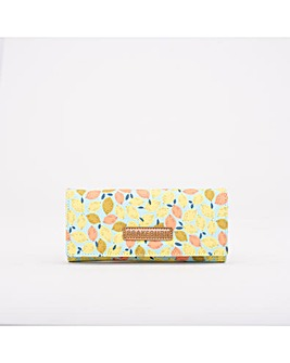 BRAKEBURN LEMON FOLD OVER PURSE