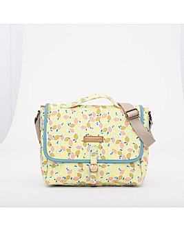 BRAKEBURN LEMON SATCHEL