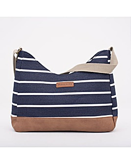 BRAKEBURN STRIPE HOBO BAG