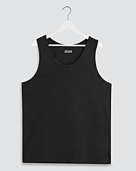 Black Basic Vest