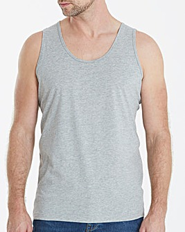 Grey Marl Basic Vest