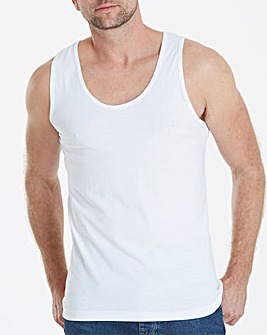 White Basic Vest Regular
