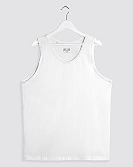 White Basic Vest Regular