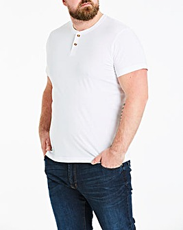White Grandad T-Shirt Long
