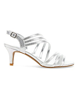 Wrap Around Occasion Sandals E Fit