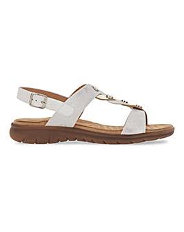 Heavenly Feet Interweave Sandals Wide E Fit