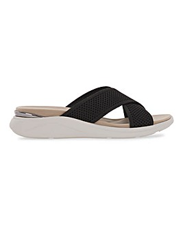 Heavenly Feet Crossover Sandals Extra Wide EEE Fit