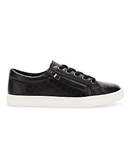 Side Zip Leisure Shoes E Fit