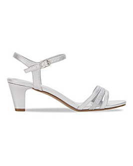 Heavenly Soles Occasion Sandals Wide E Fit