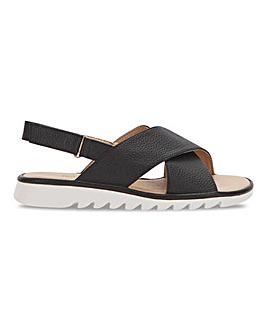 Cushion Walk Crossover Sandals Wide E Fit