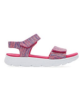 Cushion Walk Touch And Close Leisure Sandals Extra Wide EEE Fit