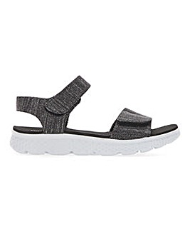 Cushion Walk Touch And Close Leisure Sandals Wide E Fit