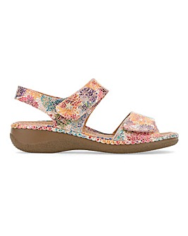 Cushion Walk Touch And Close Sandals Extra Wide EEE Fit