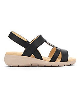 Cushion Walk Ring Trim Sandals E Fit