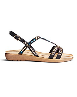 9b3cb9e224 Strappy sandals | Summer sandals | Evening sandals | Ambrose Wilson