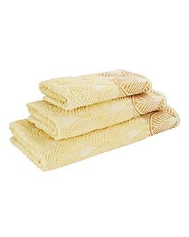 Art Deco Hand Towel
