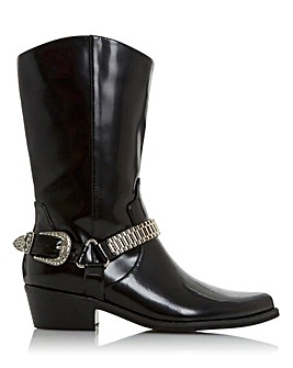 Head Over Heels Rubee Western Mid Calf Boots Standard D Fit