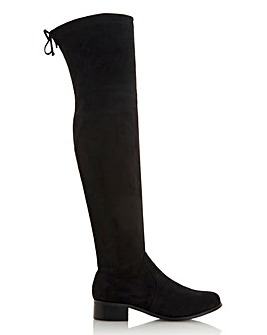 Head Over Heels Tarra Over The Knee Boots Standard D Fit