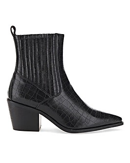 Raid Rocco Western Ankle Boots