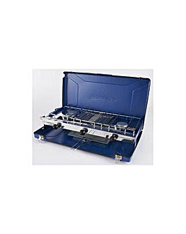 Campingaz Double Burner and Grill